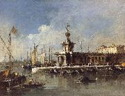 Francesco Guardi The Punta della Dogana china oil painting reproduction